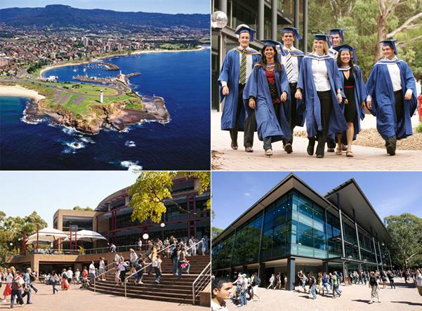 Du học Úc – Đại học Wollongong (University of Wollongong)